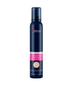 INDOLA COLOR STYLE MOUSSE MEDIUM BLOND 200ML