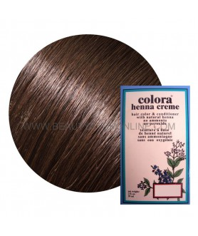 HENNA LIGHT BROWN VOOR 1 BEHANDELING 60GR