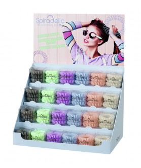 SIBEL SPIRADELIC PASTEL EDITION DISPLAY 24 STUKS
